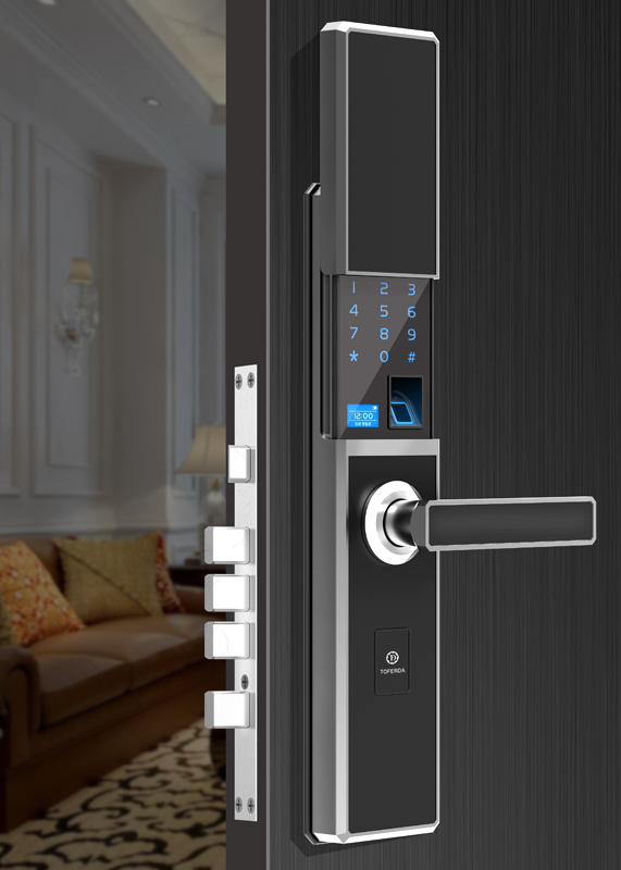 Z-107Slide fingerprint lock